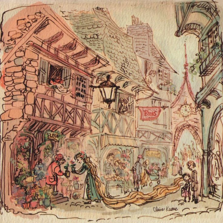 claire keane tangled market - Google Search