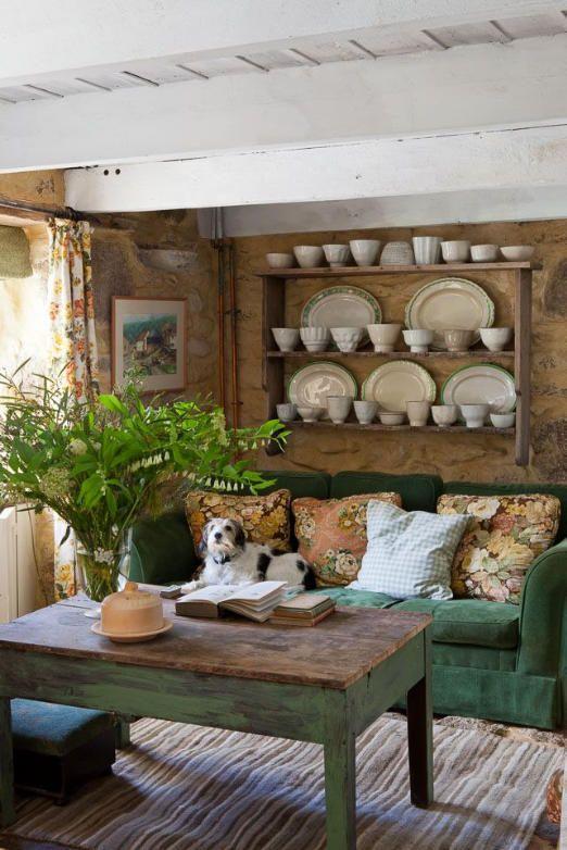 Cottage cozy.