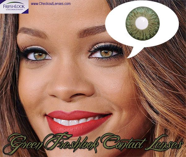 How to get the same looking eyes as Rihanna
