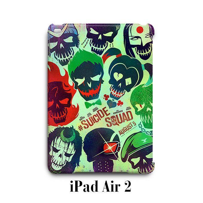 Suicide Squad iPad Air 2 Case Cover Wrap Around