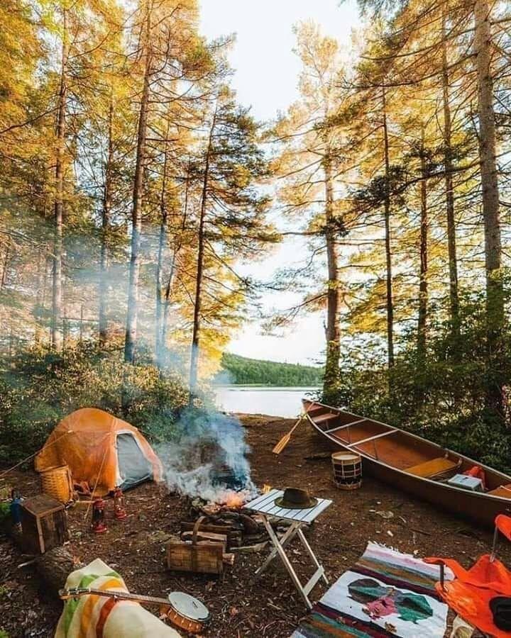 Lugares lindos para acampar