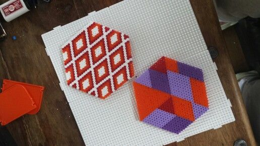 Hama coasters trivet