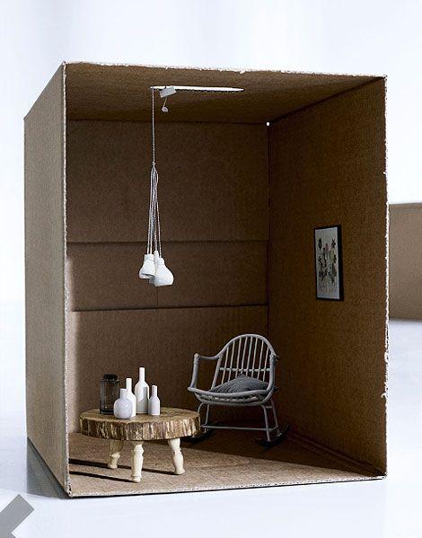 cardboard simplicity dollhouse