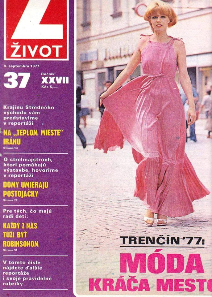 Emma Tekelyová ako modelka