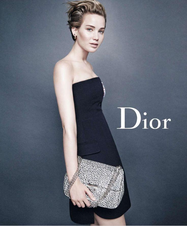 Jennifer Lawrence  Miss Dior SS/14 Campaign