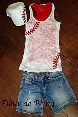 Hey, I found this really awesome Etsy listing at https://www.etsy.com/ca/listing/150992499/baseball-tank-top-baseball-mom-tank-top