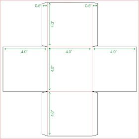 Tweedlelou Mini Box Template Paper Box Template Box Template Printable Box Template