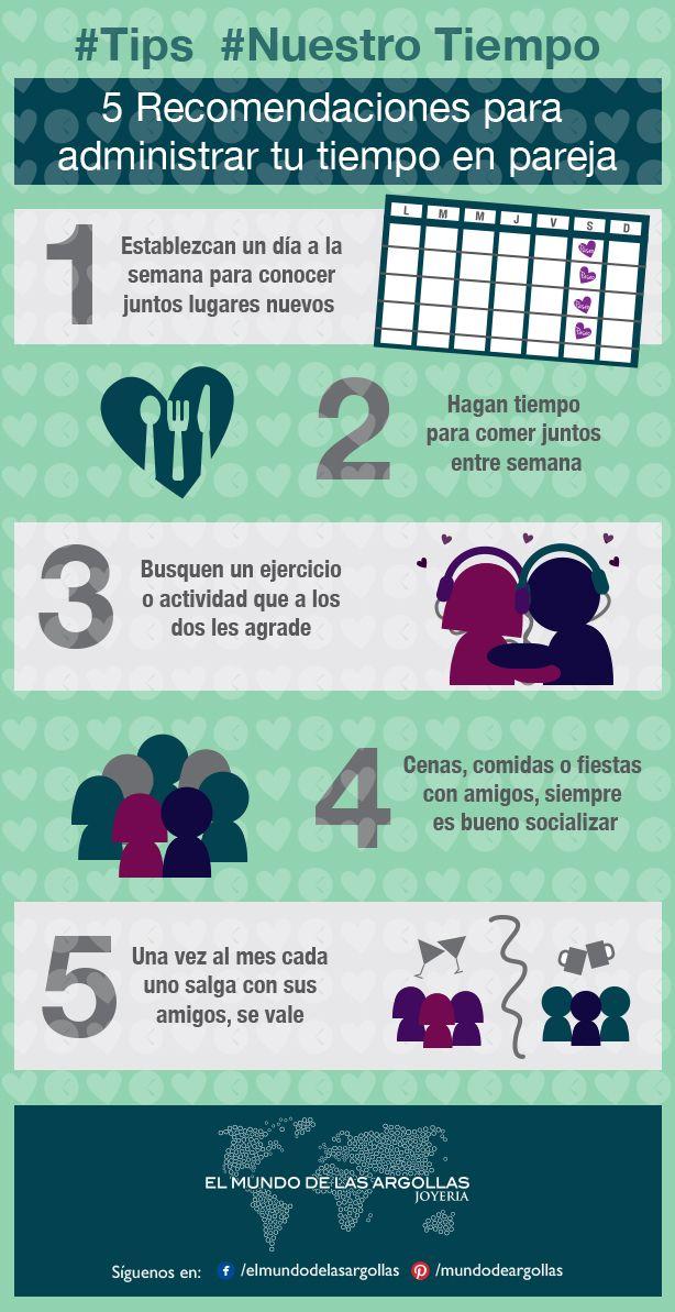 #Tips ¿Iniciando una nueva vida en pareja? Nuestro Tiempo