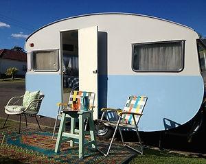 Retro Vintage Caravan Globetrotter 1965