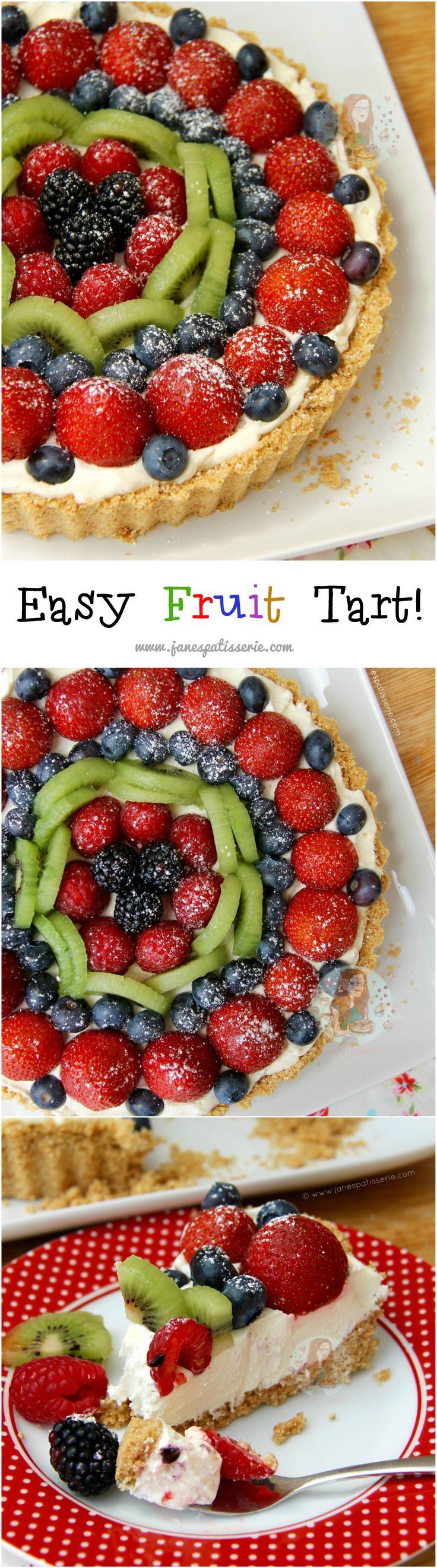 healthy fruit based desserts fruit tart recipe