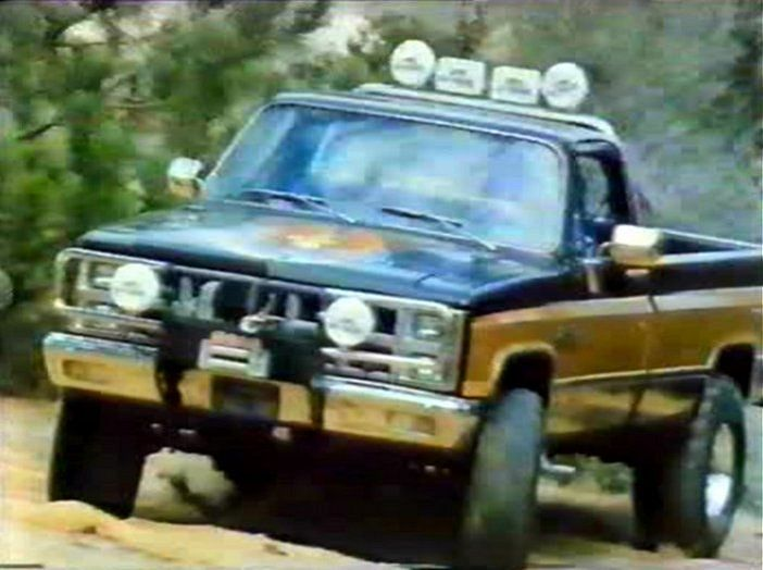 THE FALL GUY TRUCK FROM THE 80'S. One of the reasons I watched the show.... :)