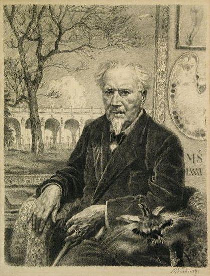 Der tschechische Künstler Max Svabinský (1873-1962)
