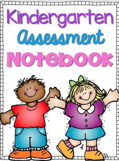 FREE Kindergarten assessment notebook cover and letter assessments