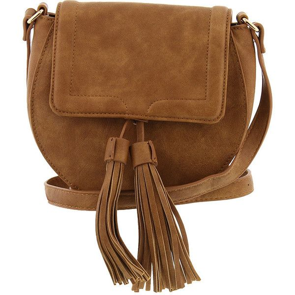 Urban Expressions Karma Crossbody Bag Tan Bags No Size (505 EGP) ❤ liked on Polyvore featuring bags, handbags, shoulder bags, tan, urban expressions handbags, brown shoulder bag, tan handbags, tan shoulder bag and crossbody shoulder bag