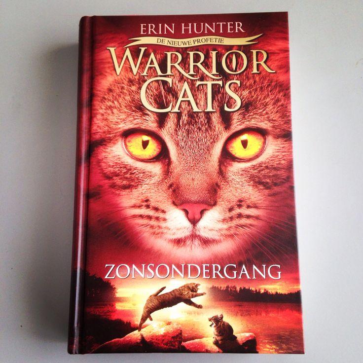 Boek 12/53 #boekperweek. Laatste deel van Warrior cats serie 2.