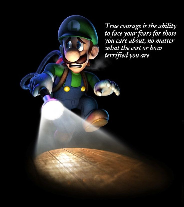 Luigi--such a courageous brother!