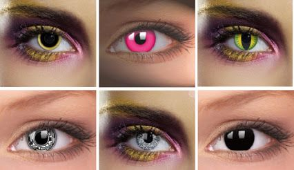 Martínez Ópticos:  #lentillas de fantasía para el #carnaval