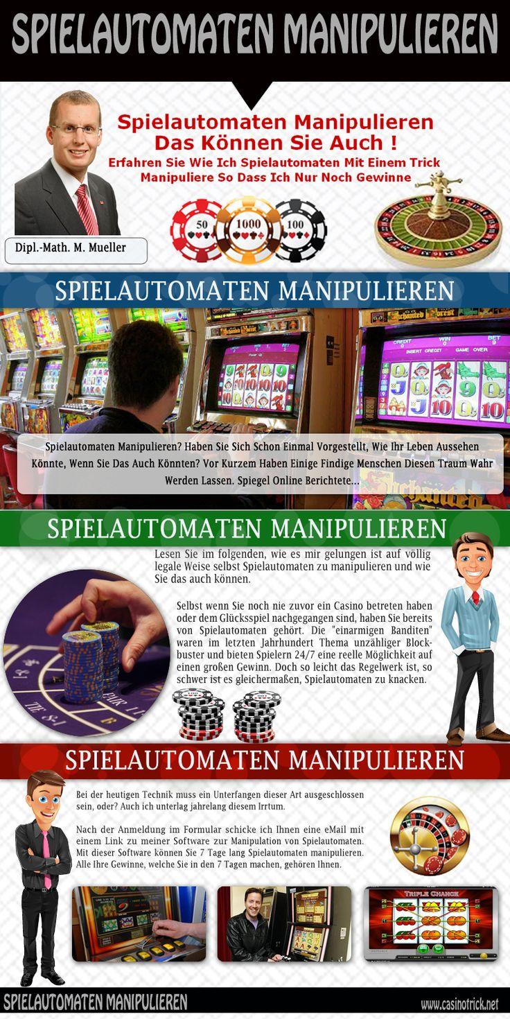spielautomaten manipulieren software