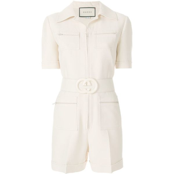 670a32556a4b Gucci Short belted playsuit ( 3