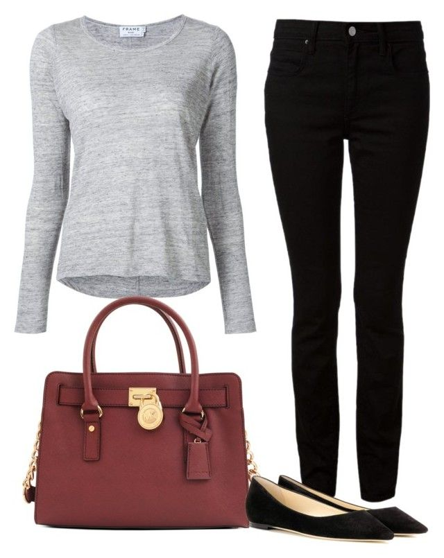 """""""13 going on 30 outfit 2"""" by anamarialiasch on Polyvore featuring moda, Frame, Alexander Wang, Michael Kors e Jimmy Choo"""