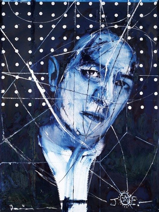 'Destroy' Joe Strummer by Damien Hirst