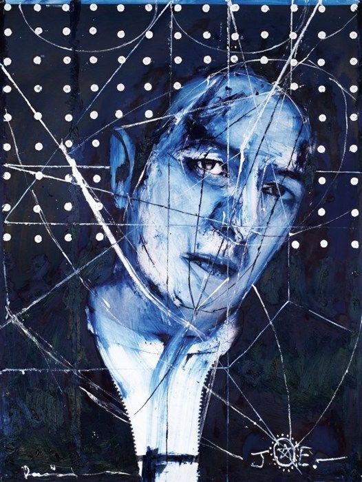 'Destroy' Joe Strummer by Damien Hirst