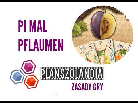 Planszolandia: Wideo recenzja i zasady gry Pi mal Pflaumen # 88