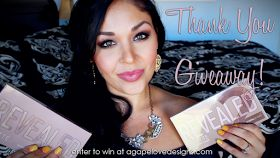 Thank You GIVEAWAY | Coastal Scents Revealed Palettes!