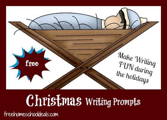 FREE Christmas Writing Prompts and Ideas!