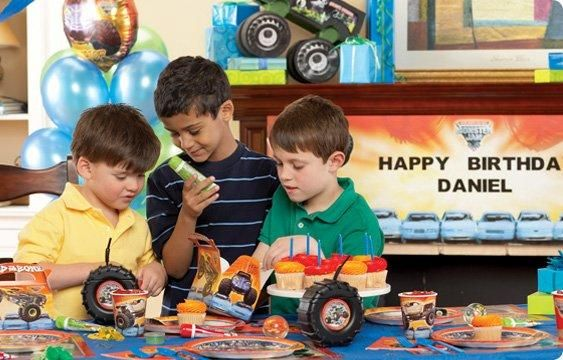Monster Jam party supplies by Birthday Express