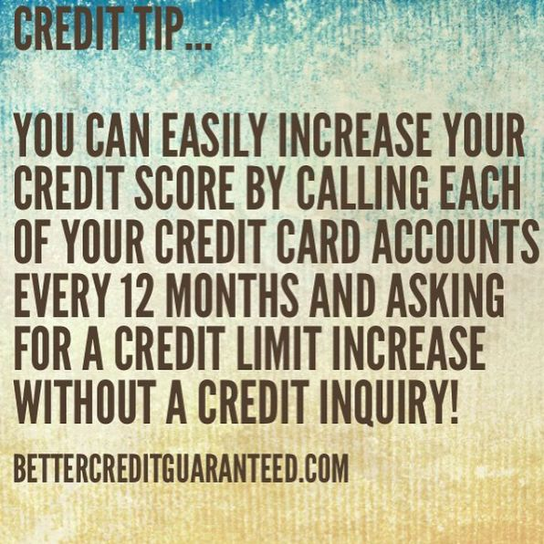 do credit cards increase your limits