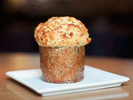 BBQ Pulled Pork Cupcake at Bourbon Steak in Washington, DC. Interesting. Very...interesting. Not sure I'd ever make one, but would buy one to try if I could.