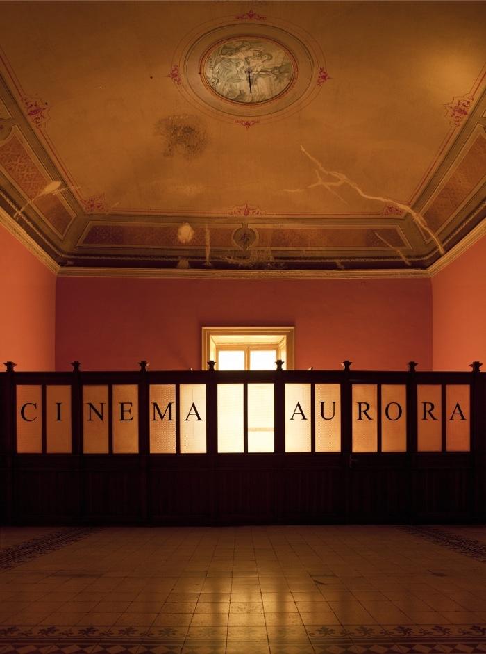 Marianna Christofides, Cinema Aurora, 2013, diasec, 100 x 74 cm, courtsey the artist and Laveronica arte contemporanea