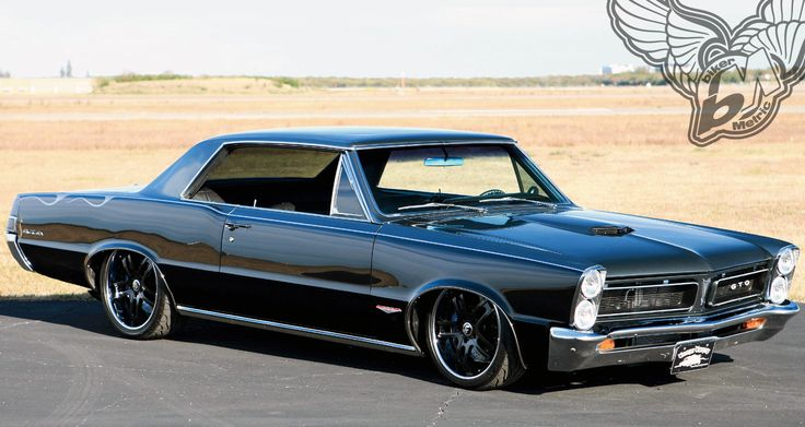 Pure evil 1965 pontiac gto  custom  Wheels  Pinterest