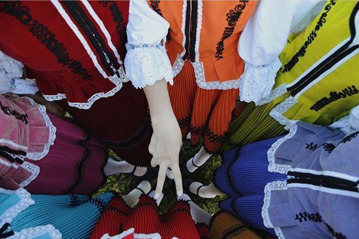 Folk costume from Slovakia