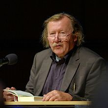 Peter Sloterdijk-- born 26 June 1947) is a German philosopher and cultural theorist. He is a professor of philosophy and media theory at the University of Art and Design Karlsruhe. He co-hosted the German television show Im Glashaus: Das Philosophische Quartett from 2002 until 2012.