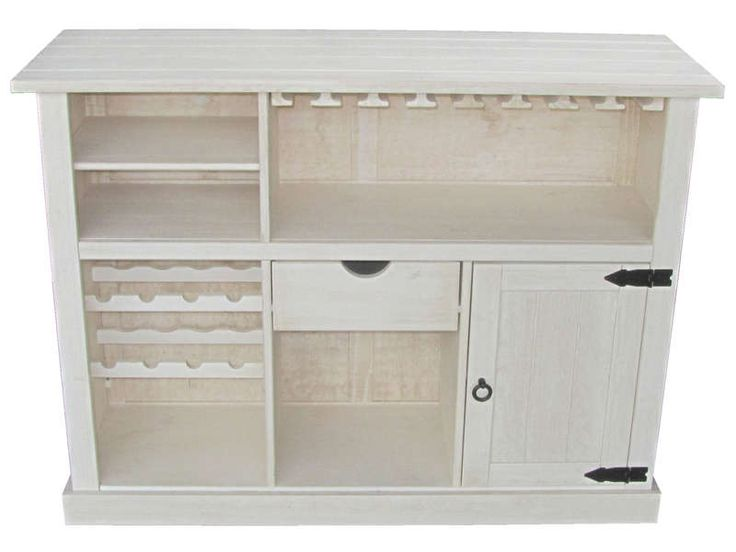 bar pas cher conforama achat bar 1 porte 1 tiroir saraya coloris blanc vieilli prix promo. Black Bedroom Furniture Sets. Home Design Ideas