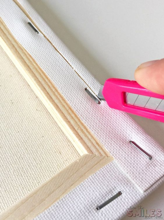 DIY Craft: How to Make a Reverse Canvas: Easy & Inexpensive Framed Art! 1