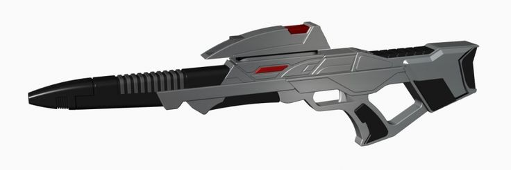 "3D-Druck fähiges Modell des ""Star Trek Mark 3 Phaser Rifle"""