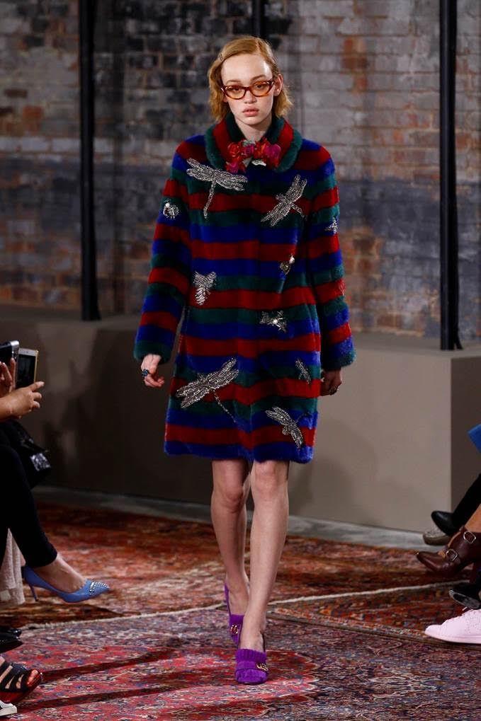 Wilhelmina Models: Rhiannon, Gucci Resort '16