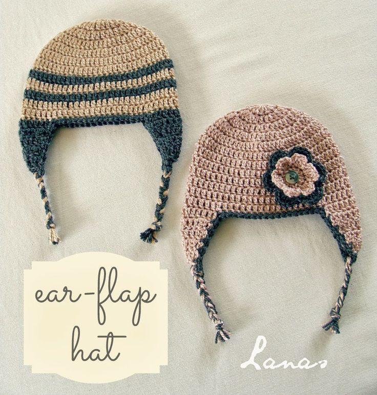 73 best Gorros crochet images on Pinterest | Knit mittens, Crochet ...
