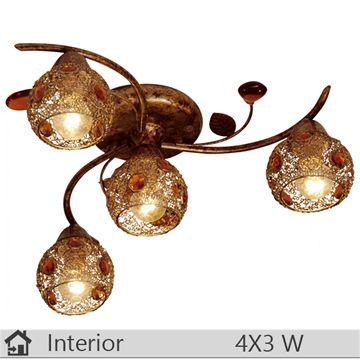 Plafoniera iluminat decorativ interior Klausen, gama Gio, model PL3