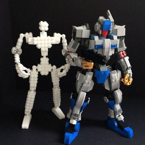 Bonne nouvelle pour vos créations Lego ! Ils viennent avec des clous sur chaque côté et tous les côtés sont constructible, vous donnant un très haut degré de liberté. Mybuild système de briques de base est spécialisée dans la création d'articulations mobiles pour un cadre de robot. Utilisez ces briques de base pour construire un cadre et le couvrir avec des briques Lego, et de créer votre robot d'action! Les designs 3D comprennent des supports d'impression, et ils peuvent être fac...