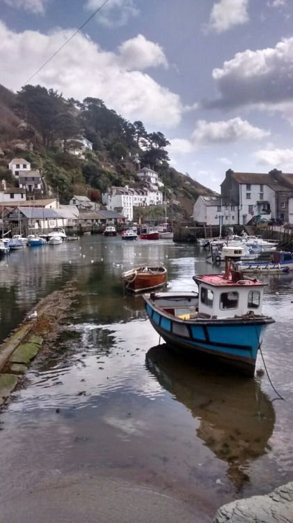 'Polperro Harbour' - Cornwall, England