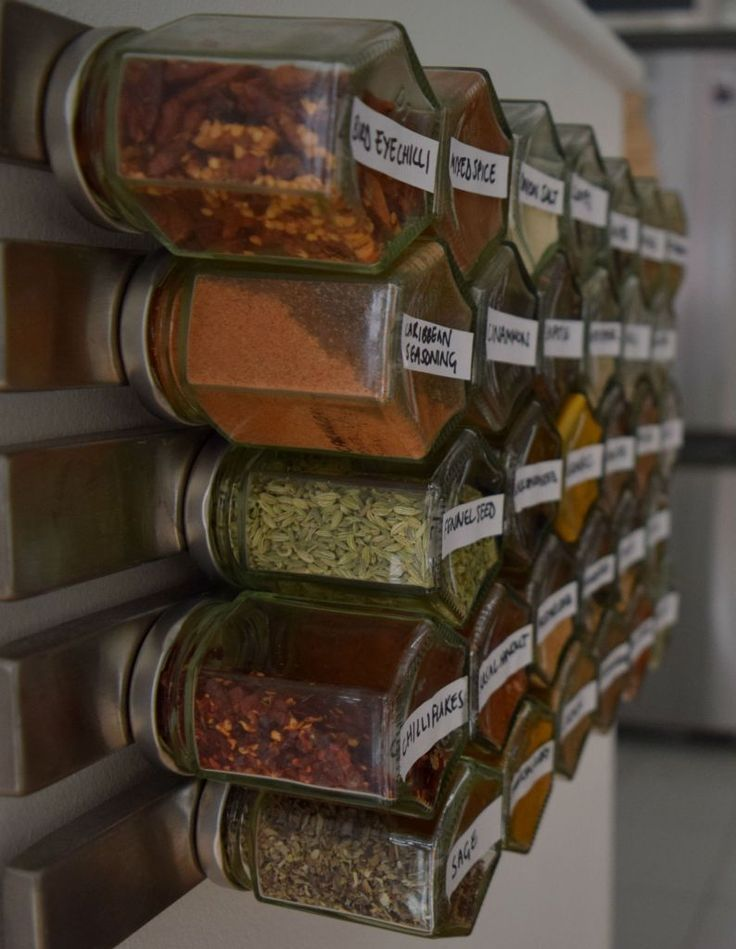 Magnetic spice rack                                                                                                                                                                                 More