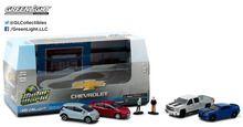 Greenlight 1:64 Motor World Multi-Car Dioramas Modern Chevrolet Dealership