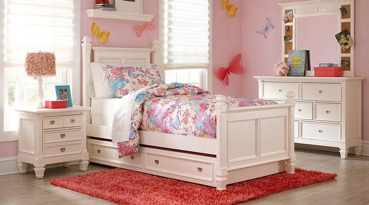 AffordablePoster Twin Bedroom Sets-Girls Room Furniture