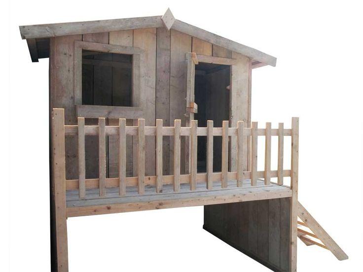 Houten speelhuisje | Speelhuisje hout - Speelhuisjes van Dutchwood