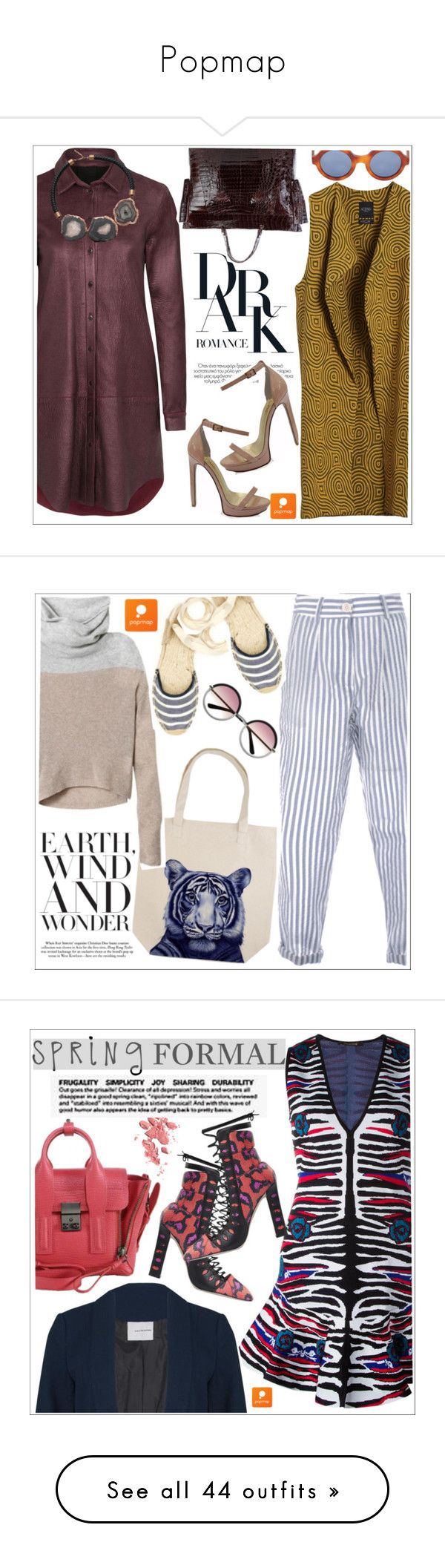 """""""Popmap"""" by teoecar ❤ liked on Polyvore featuring Merci Me London, Saturnino, Augusta, Soludos, Chanel, daria, Sandy Liang, Le Specs, Cape Robbin and Barbara Bui"""