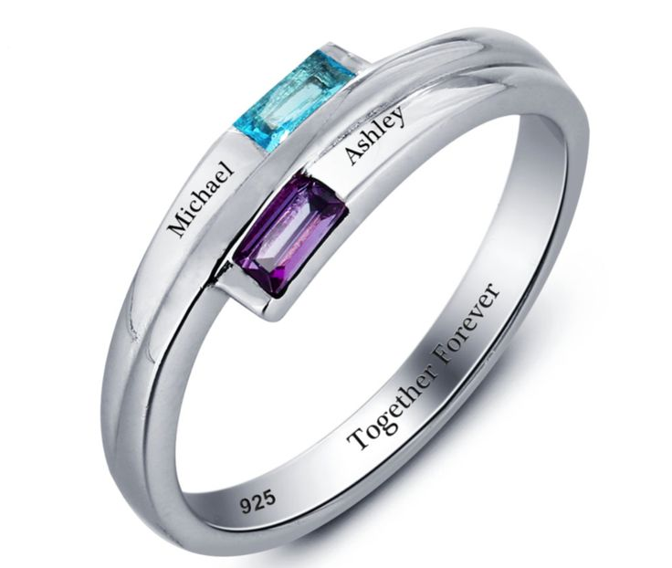 Mother's Day Sale! 15% Off with Voucher Code MUM  925 Sterling Silver Promise Ring